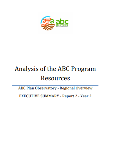 Analysis of the ABC Program Resources – Regional Overview